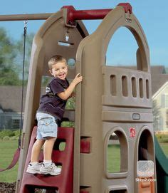 step2 naturally playful playhouse climber swing extension e on pinterest toys r us lego city and scooby doo