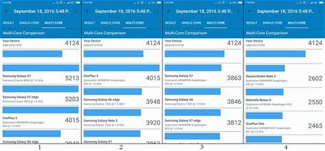 geek bench test ردمی نوت 4 در آزمایش geekbench گلکسی اس 7 را شکست می دهد