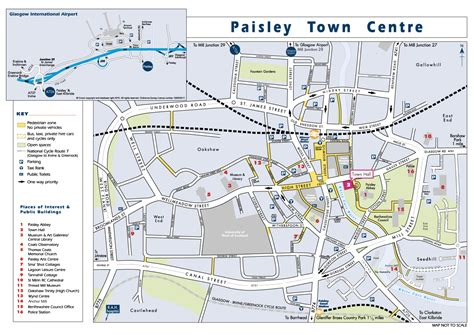 map of paisley glasgow city region city deal supplier event