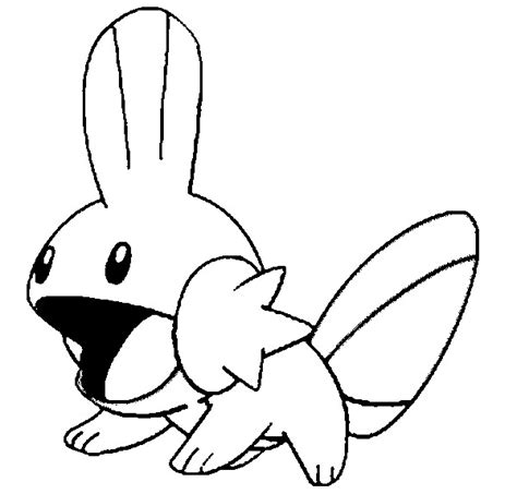 Mudkip Coloring Pages free coloring pages of mega mudkip