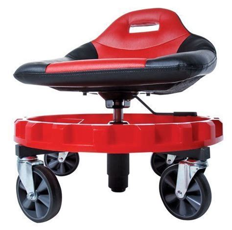 Rolling Work Stool Seat by Mechanics Creeper Seat Rolling Work Stool Tools Garage