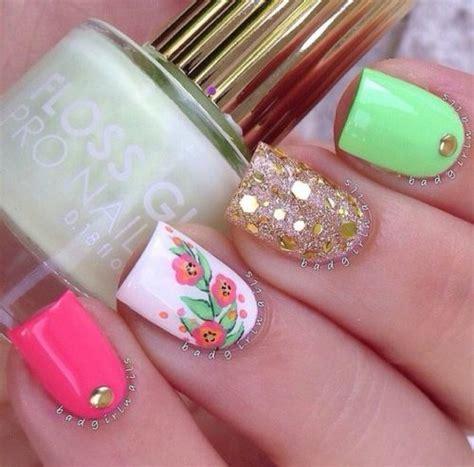 imagenes uñas decoradas con flores decoraci 243 n de u 241 as facil decoradas con flores