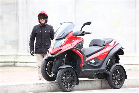 wheeled scooter launches  uk visordown