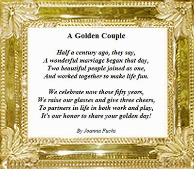 Golden Wedding Anniversary Quotes by Dave And Ruth Potts Are Celebrating Their 50th Wedding