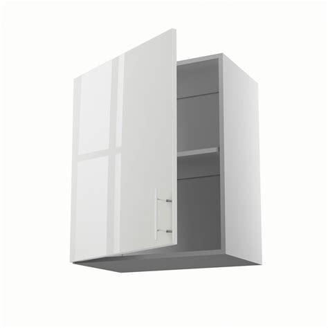 meuble cuisine largeur 55 cm meuble de cuisine haut blanc 1 porte h 70 x l 60 x p