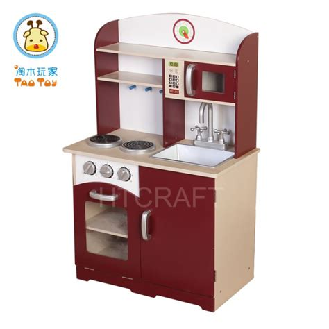 Small Wooden Play Kitchen by Tk013 Classic Wine Play Wood Kitchen Small