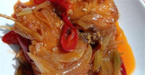 resep ikan asin jambal roti enak  sederhana cookpad