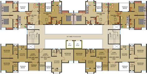 886 sq ft 2 bhk 2t apartment for sale in maple aapla ghar