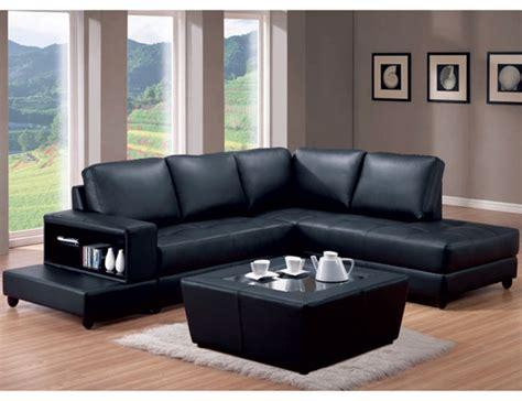 black leather match trenton l shaped sofa by coaster 500645r