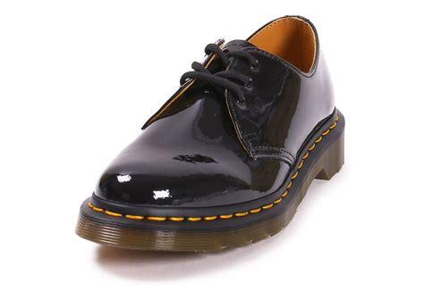 Dr Martens 1461 Black Noir dr martens 1461 w vernis chaussures black friday