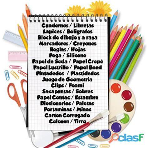 imagenes de papeleria y utiles escolares utiles escolares clasf