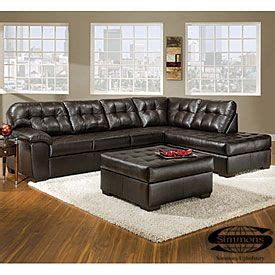 simmons manhattan faux leather recliner cheap and perfect for our home no need to have expensive