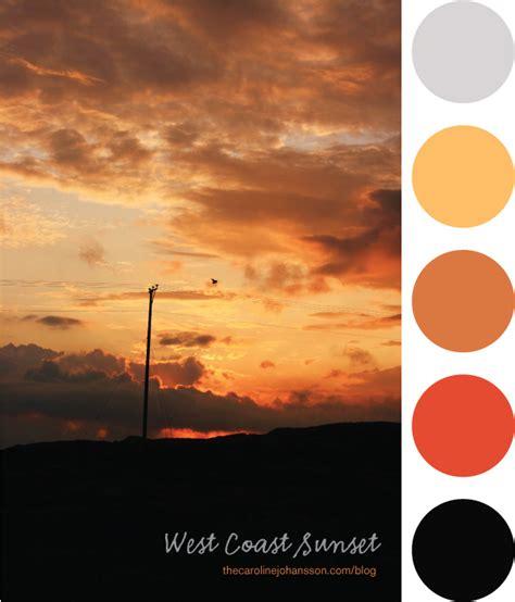 sunset color color westcoastsunset