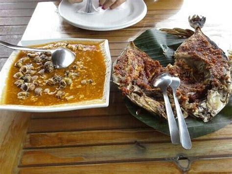 Kerang Macan ikan kudu kudu picture of dinar seafood jakarta