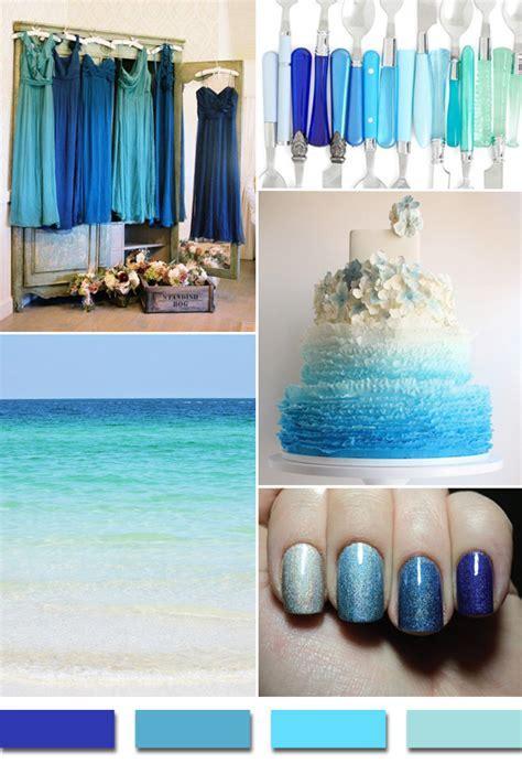 Popular Summer/Beach Wedding Color Palettes 2014 Trends