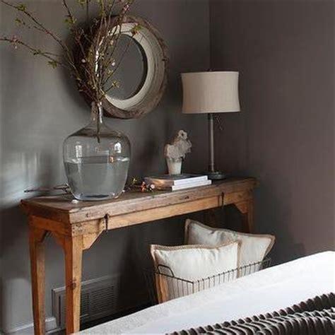 taupe bedroom walls reclaimed wood walls design ideas