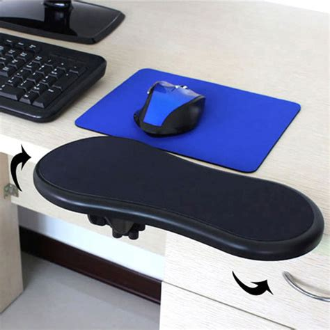 elbow rest for desk black restman computer arm support rest desk armrest