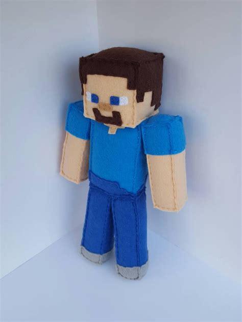 Handmade Minecraft - minecraft steve stuffed plush mto minecraft minecraft
