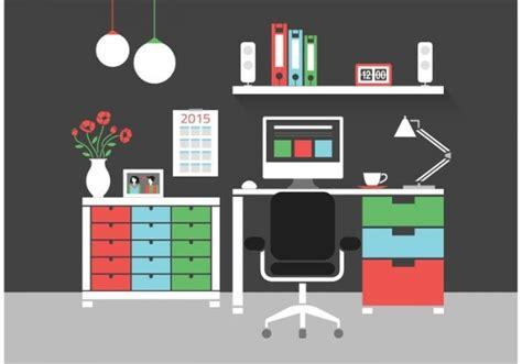 amazing workspace vector  illustrator