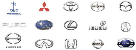 Auto Marken by Japanische Automarkenzeichen Automarken Logos Und