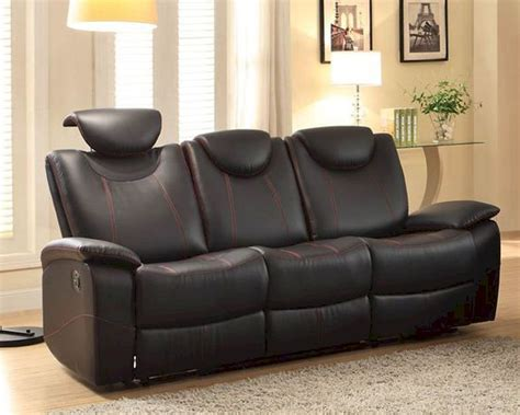 homelegance double reclining sofa double reclining sofa talbot by homelegance el 8524bk 3