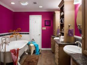 tween bathroom ideas vibrant pink punch up a bathroom with pink designer