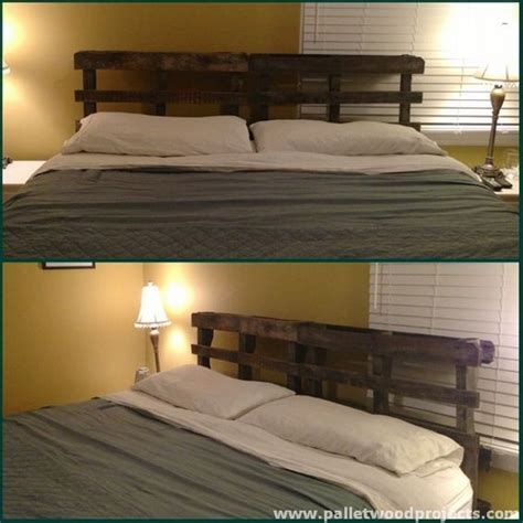Pallet Headboard For Bed by Cozy Pallet Headboard Ideas Pallet Wood Projects