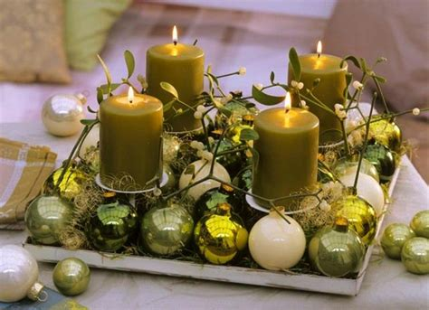centerpieces with ornaments how to make a centerpiece with candles