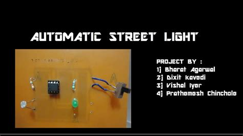 automatic light project