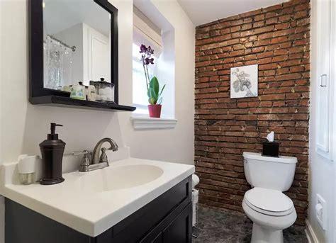 brick in a bathroom exposed brick 14 reasons to the look bob vila