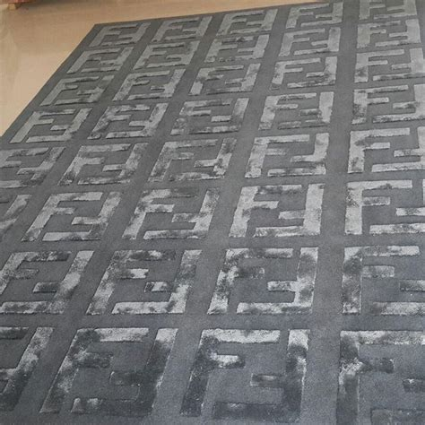 tappeti fendi tufted knotted handwoven rugs carpets
