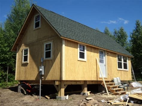 Small Homes On Skids 14x14 Foundation Small Cabin Forum