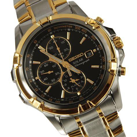 Seiko SSC142P1 Solar Chronograph Watch