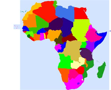 africa map clipart africa clip at clker vector clip