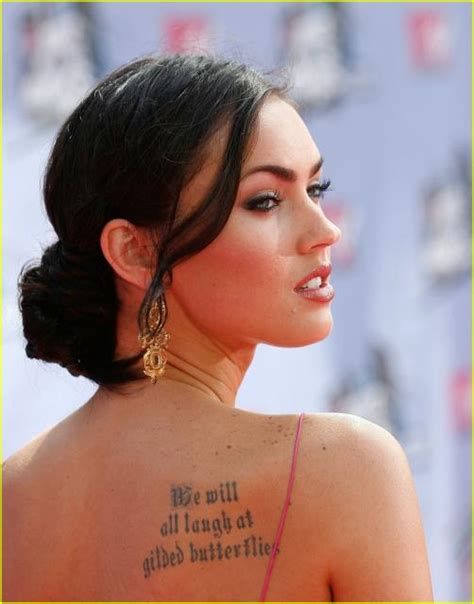 meagan good tattoo megan fox tattoos all tattoos