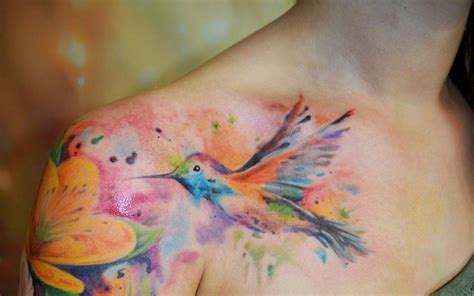 watercolor tattoo frankfurt water colorful yessssss it