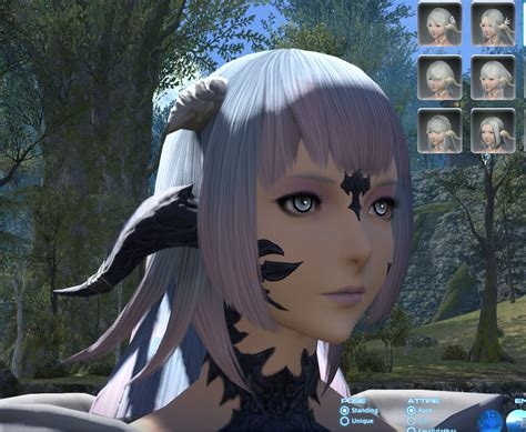 ffxiv haircuts show your au ra page 86
