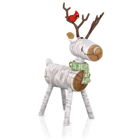 hallmark keepsake ornaments 2015 rustic reindeer hallmark keepsake ornament hooked