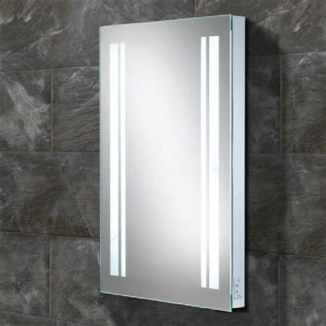 bathroom backlit mirror hib nexus led backlit bathroom mirror 450 x 800mm