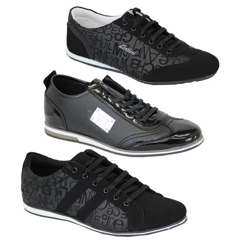mens designer sneakers mens trainers sneakers shoes lace up suede look smart