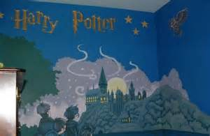 Harry Potter Wall Murals Best Hand Painted Murals In Kid Rooms Geeksraisinggeeks Com