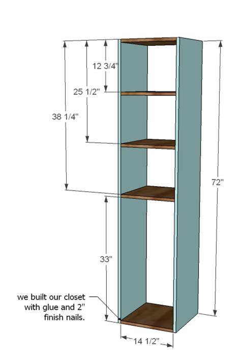 closet plans closet storage organizer woodworking plans woodshop plans