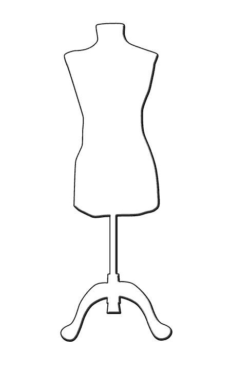 mannequin template mannequin silhouette search redefining design