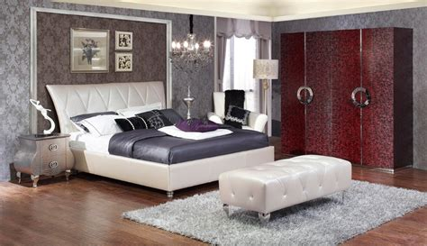 real leather headboard modern designer real leather headboard double bed bed