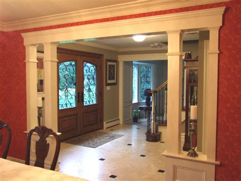 1000 images about indoor pillars or columns on pinterest low walls interior columns traditional entry new