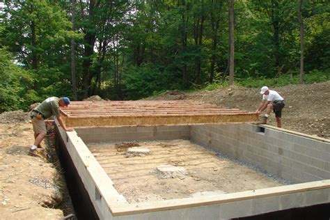 How To Insulate A Basement by Best Foundation For Northeast