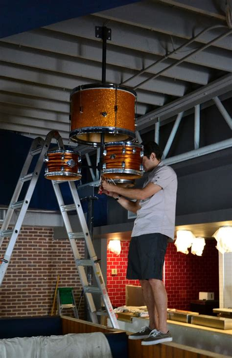 Diy Drum Chandelier Diy Drum Kit Chandelier Something Else I Can Do With Drums When They Get Left In My Livingroom
