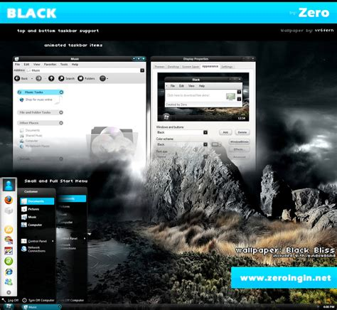 themes pc windows xp black windows xp theme themes for pc