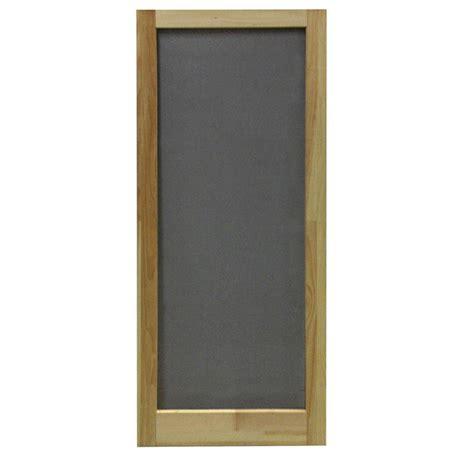 screen doors screen tight 36 in x 80 in lafayette vinyl white wide