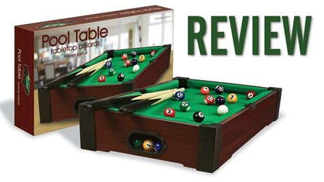 the quot go to quot pool guide with westminster tabletop mini pool table review 16 quot x 9